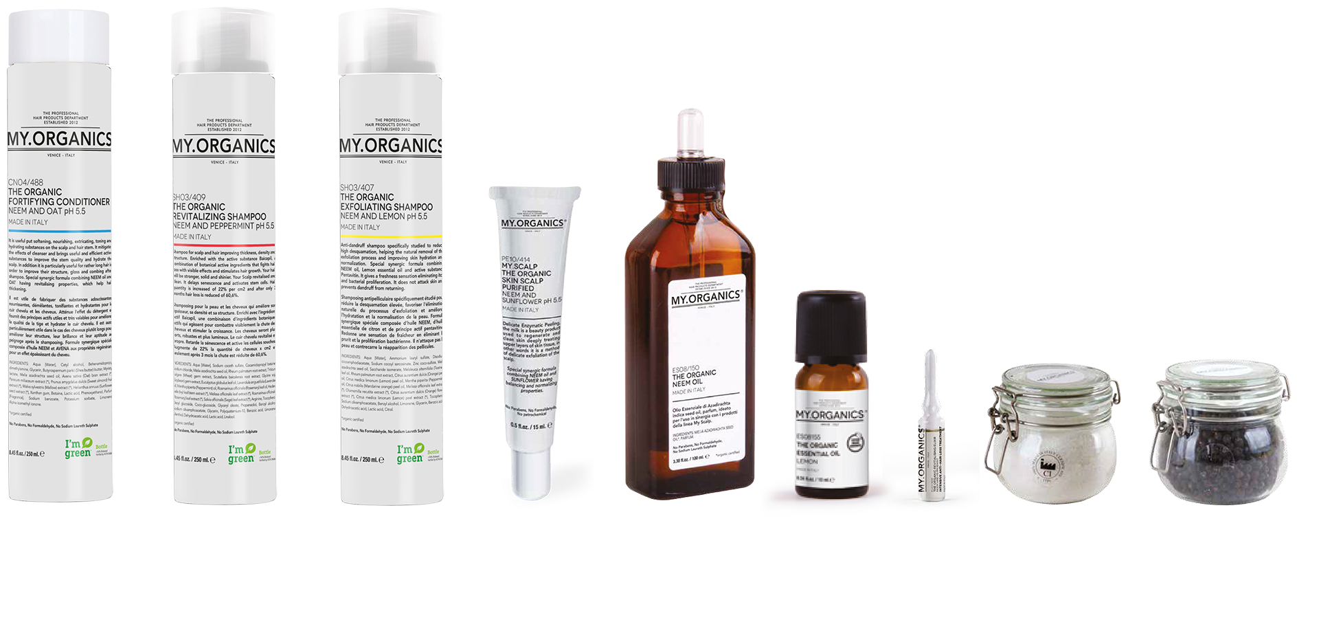 My.Scalp Line: products for hair, nails and skin - My.Organics